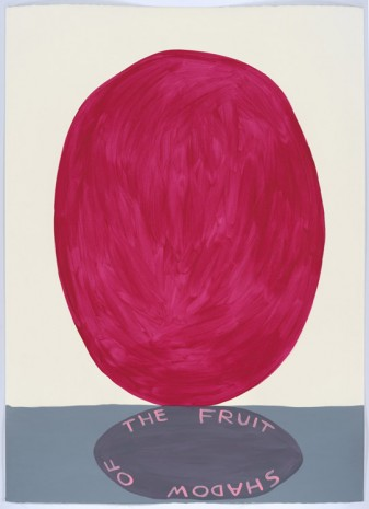 David Shrigley, Untitled (The fruit of shadow), 2015, Anton Kern Gallery