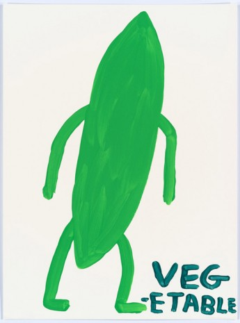 David Shrigley, Untitled (Vegetable), 2015, Anton Kern Gallery