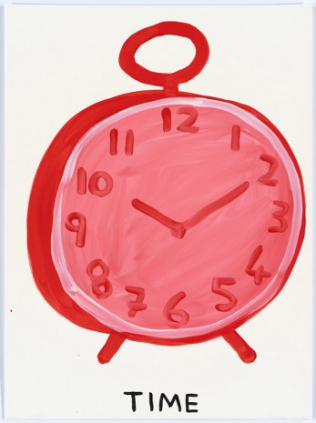 David Shrigley, Untitled (Time), 2015, Anton Kern Gallery