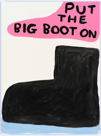 David Shrigley, Untitled (Put the big...), 2015, Anton Kern Gallery