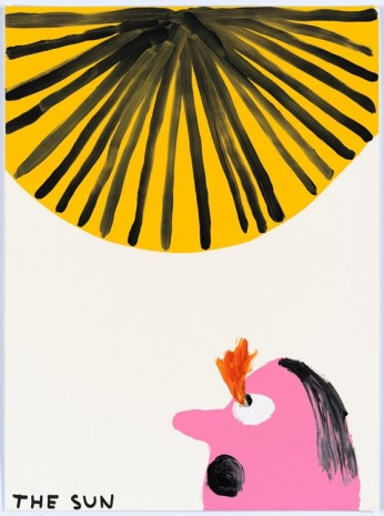 David Shrigley, Untitled (The sun), 2015, Anton Kern Gallery
