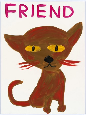 David Shrigley, Untitled (Friend), 2015, Anton Kern Gallery