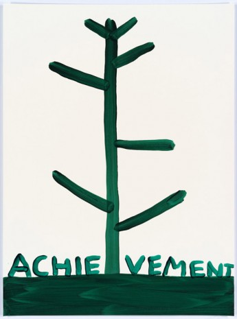 David Shrigley, Untitled (Achievement), 2015, Anton Kern Gallery