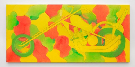 Tyson Reeder, Red Yellow Green Chopper, 2015, Office Baroque