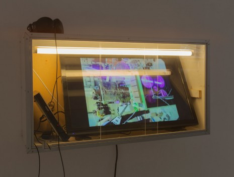 Joris Van de Moortel, Wax On TV, 2015, Galerie Nathalie Obadia