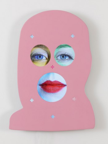 Tony Oursler, INK+, 2015, Lehmann Maupin
