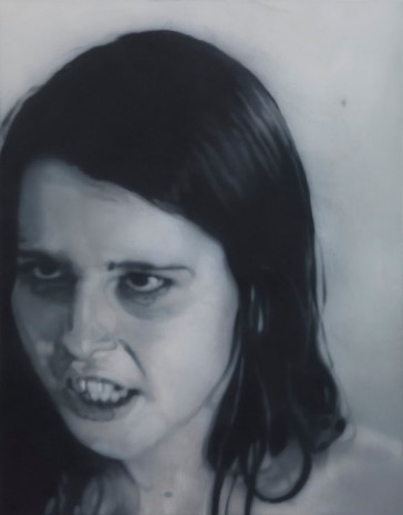 Johannes Kahrs, Untitled (angry girl), 2013, Zeno X Gallery