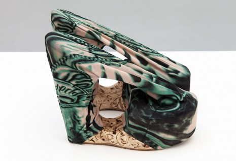 Donna Huanca, Tattoo Shoes, 2015, Valentin