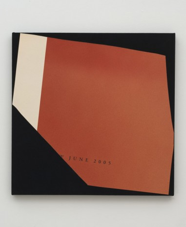 Kim Fisher, Magazine Painting (Rust with Margin), 2012, China Art Objects Galleries