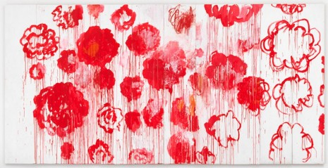 Cy Twombly, Blooming, 2001–08, Gagosian