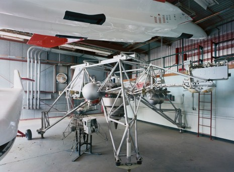 Thomas Struth, Research Vehicle, Armstrong Flight Research Center, Edwards, 2014, Marian Goodman Gallery