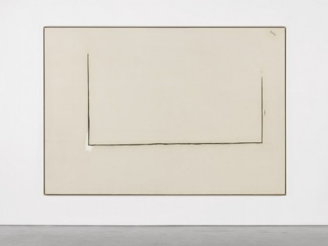Robert Motherwell, Open No. 22: In Charcoal with White, 1968, Andrea Rosen Gallery