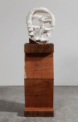 Thomas Houseago, Algol Head, 2015, Gagosian