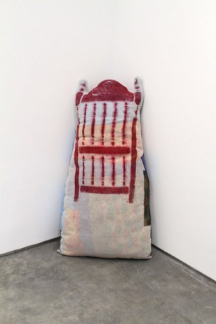 Jessica Jackson Hutchins, Chair Pillow, 2015, Marianne Boesky Gallery
