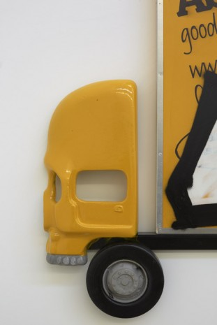 Pentti Monkkonen, Box Truck Painting (Cunty), 2015 (detail), Jonathan Viner (closed)