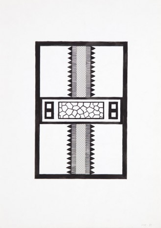 Nathalie Du Pasquier, Project for carpet, 1983, Exile