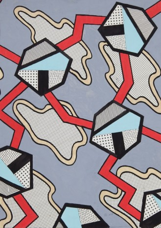 Nathalie Du Pasquier, Project for a surface, 1982, Exile