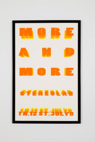 Marc Hundley, We communicate more and more in more defined ways than ever before it's all very poor it's all just a bore, 2013, Office Baroque