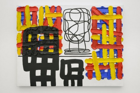 Jonathan Lasker, The Thing Itself, 2005, Office Baroque