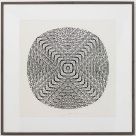 Channa Horwitz, Centered I, 1982, Air de Paris