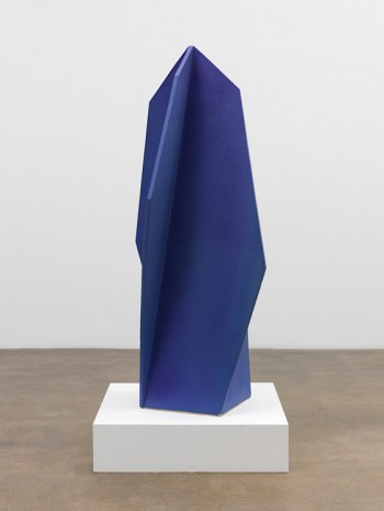 John Mason, Shifting Blue Spear, 2014-2015, David Kordansky Gallery