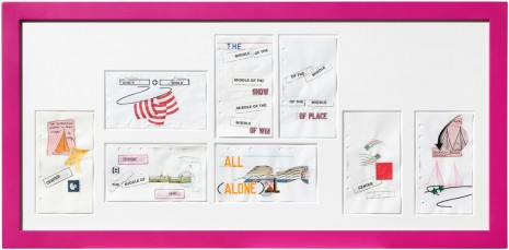 Lawrence Weiner, Compilation, 2011, Mai 36 Galerie