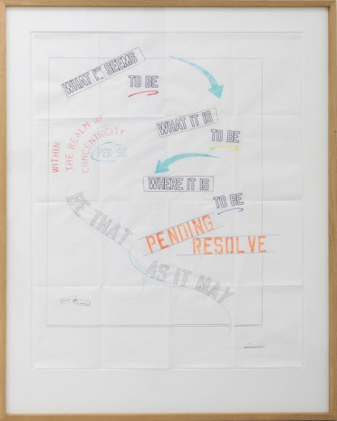 Lawrence Weiner, Untitled, 2012, Mai 36 Galerie