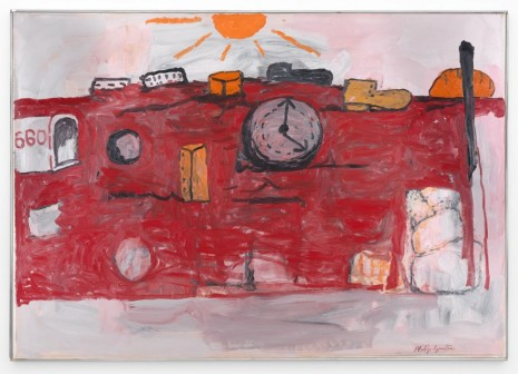 Philip Guston, The Hill, 1971, Timothy Taylor