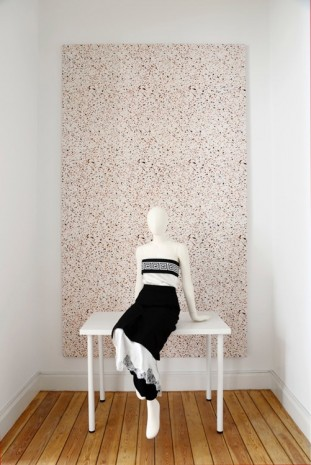 Atelier E.B. (Lucy McKenzie & Beca Lipscombe) , Rose Terrazzo with Mannequin, 2015, Galerie Micheline Szwajcer (closed)
