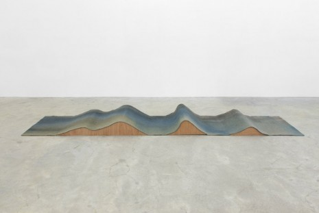 Phillip Zach, wave (peak-to-peak), 2014, Casey Kaplan