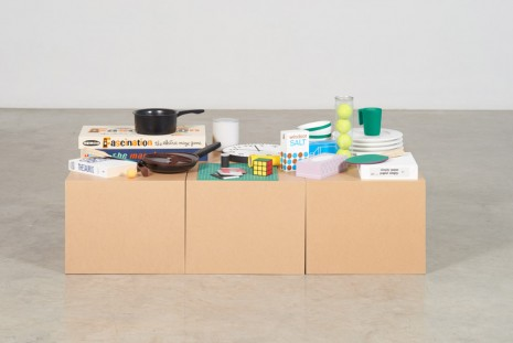Roula Partheniou, Packed Boxes with Clutter, 2015, Tanya Bonakdar Gallery