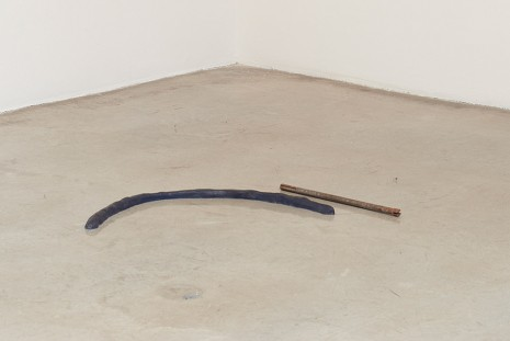 Esther Kläs, 2/1 (blue), 2015, Tanya Bonakdar Gallery
