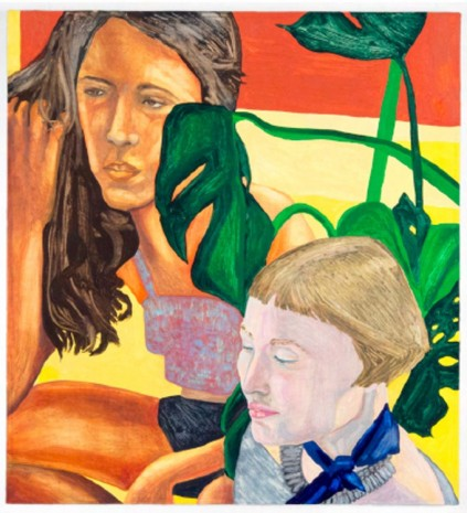 Aliza Nisenbaum, Erin with Daisy in the Lobby, 2015, Mary Mary