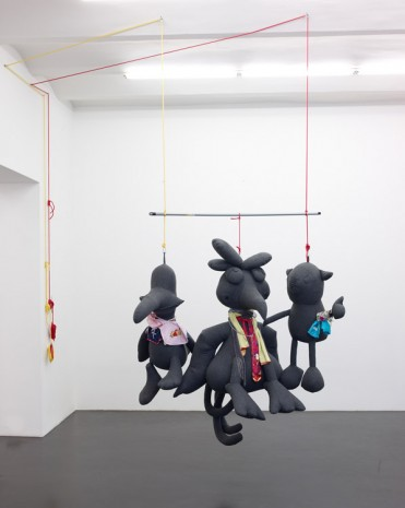 Cosima von Bonin, THROWN OUT OF DRAMA SCHOOL, 2008 , Petzel Gallery