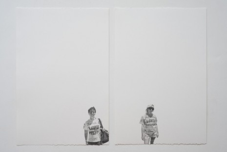 Andrea Bowers, Girlfriends (May Day March, Los Angeles, 2011), 2011, Andrew Kreps Gallery
