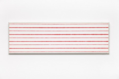 Kristjan Gudmundsson, Faster and Slower Lines No. 2, 1975, i8 Gallery