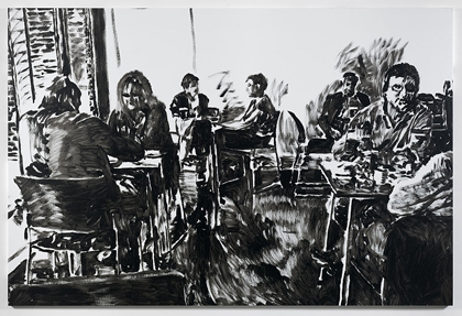 Merlin Carpenter, TATE CAFÉ 3, 2011, Simon Lee Gallery