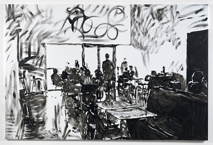 Merlin Carpenter, TATE CAFÉ 7, 2011, Simon Lee Gallery