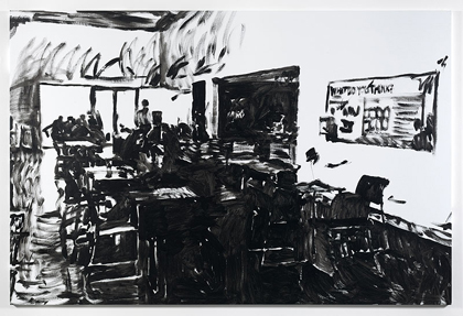 Merlin Carpenter, TATE CAFÉ 12, 2011, Simon Lee Gallery