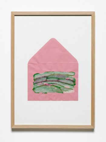 Jumana Emil Abboud, Selected Studies for a Landscape - Pink Envelope 002, 2005 - 2015, Hollybush Gardens