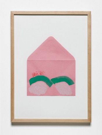 Jumana Emil Abboud, Selected Studies for a Landscape - Pink Envelope 005, 2005 - 2015, Hollybush Gardens
