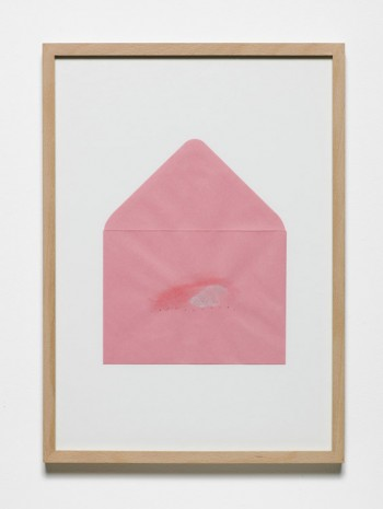 Jumana Emil Abboud, Selected Studies for a Landscape - Pink Envelope 006, 2005 - 2015, Hollybush Gardens