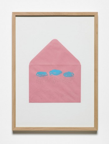Jumana Emil Abboud, Selected Studies for a Landscape - Pink Envelope, 2005 - 2015, Hollybush Gardens