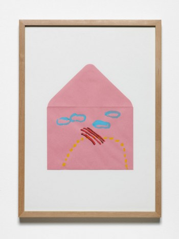 Jumana Emil Abboud, Selected Studies for a Landscape - Pink Envelope 007, 2005 - 2015, Hollybush Gardens