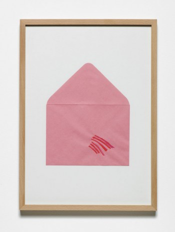 Jumana Emil Abboud, Selected Studies for a Landscape - Pink Envelope 011, 2005 - 2015, Hollybush Gardens