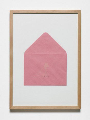 Jumana Emil Abboud, Selected Studies for a Landscape - Pink Envelope 001, 2005 - 2015, Hollybush Gardens