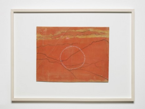 Jumana Emil Abboud, Selected Studies for a Landscape - The orange sun (connect the dots), 2005 - 2015, Hollybush Gardens