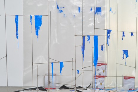 Sarah Sze, Second Studio (Fragment Series) (detail), 2015, Tanya Bonakdar Gallery