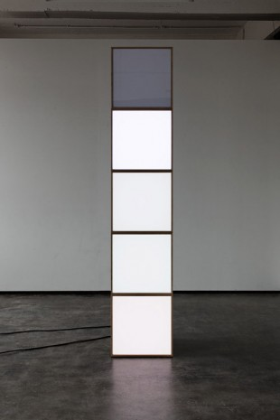 Angela Bulloch, Stack of Five Pixels, 2015, Simon Lee Gallery
