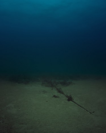 Trevor Paglen, Bahamas Internet Cable System (BICS-1) NSA/GCHQ-Tapped Undersea Cable Atlantic Ocean, 2015, Metro Pictures
